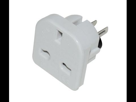 Thai electrical plug and Adapters - YouTube