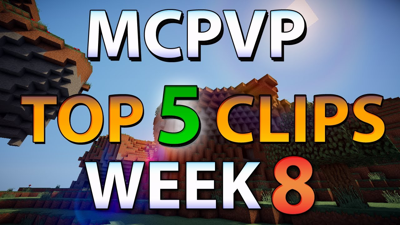 Minecraft Pvp Mcpvp Top 5 Clips Week 8 Crazy Battle