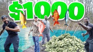 Whoever Catches The Biggest Fish Wins $1000!