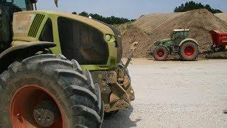 Lohnunternehmen Strobl Agrar: Erdtransport und Agrardienste - Teil 1