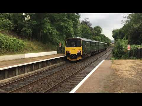 Trains At: St James Park, WEML + AL, (29/7/19)