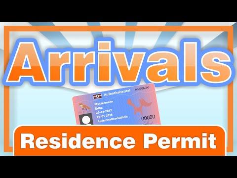Arrivals - Residence Permit [English] Die Aufenthaltstitel in Deutschland