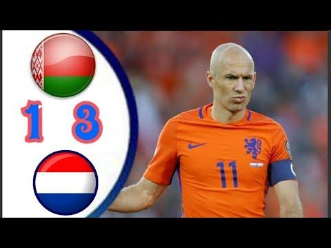 Belanda Vs Bellarusia   All Goal Highlights
