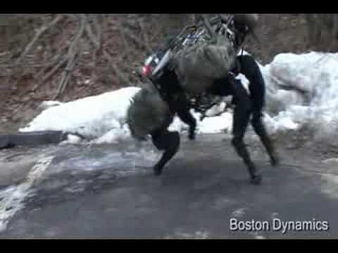 Boston Dynamics (DARPA) BIGDOG Robot