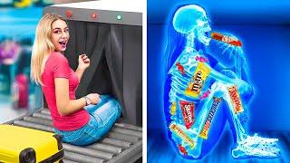 15 Ways to Snęak Snacks into the Plane!