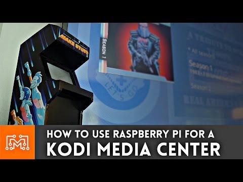 How to make a Raspberry Pi Media Center with Kodi