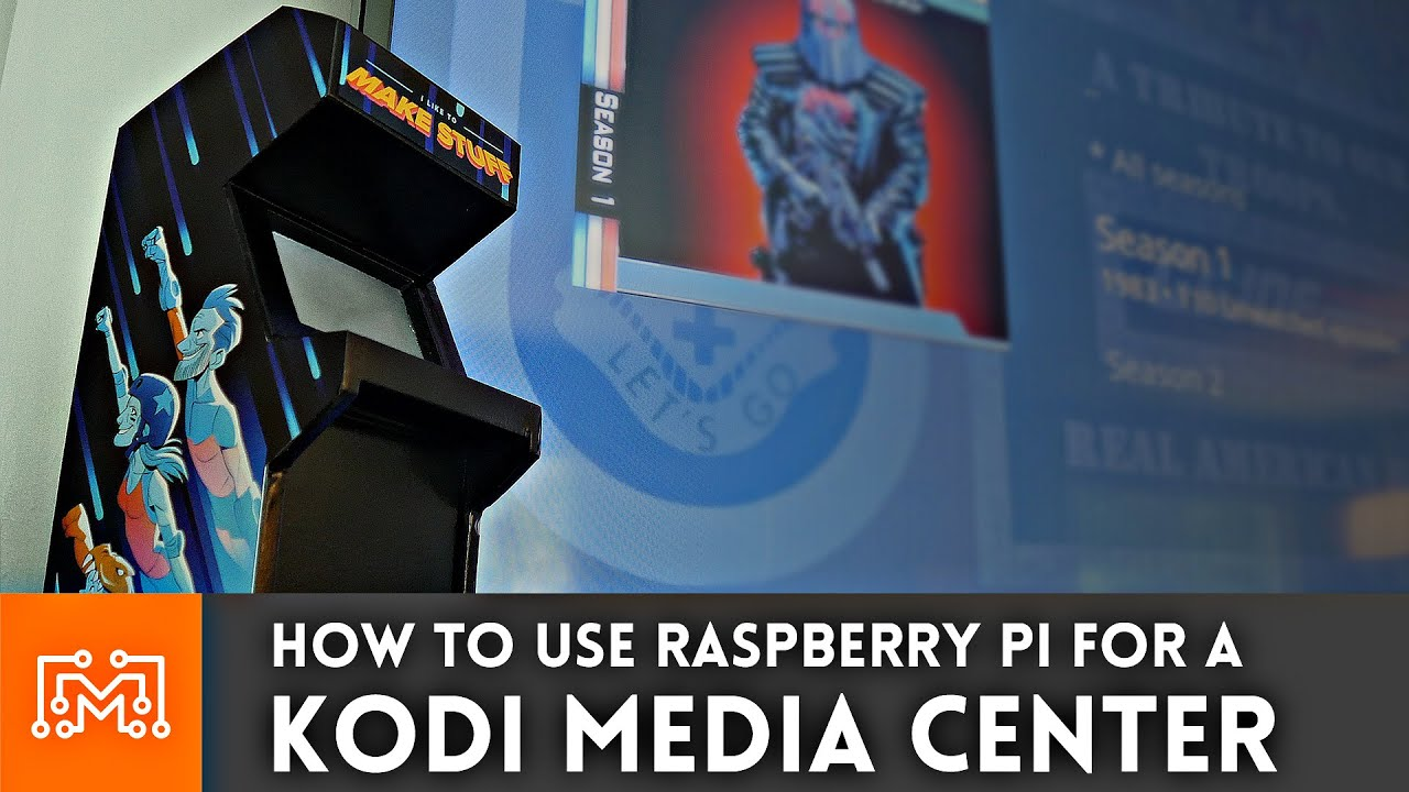 How to make a Raspberry Pi Media Center with Kodi