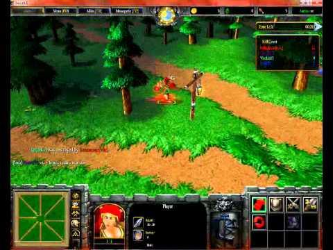 Warcraft Iii Paint Ball 5 Players Youtube