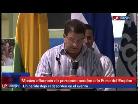 Así se vivió la feria del empleo en San Pedro Sula 06 05 2014