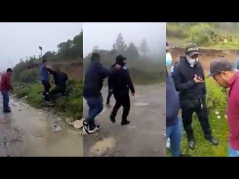 """Agentes de la PNC son agredidos por """"Los Polleros"""""""
