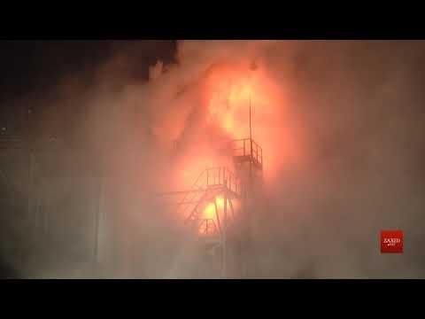 Zaxid.Net: Біля Львова виникла пожежа на олійному заводі «Майол...