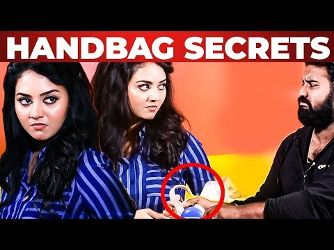 NAAYAGI Serial VIDYA Pradeep HANDBAG Secrets Revealed | What's Inside the HANDBAG