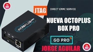 NUEVA Octoplus PRO BOX con emmc y jtag integrado