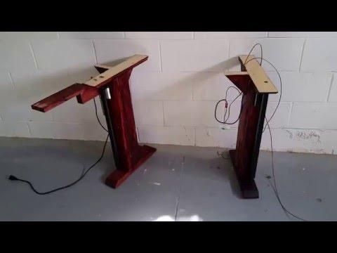 DIY electric adjustable convertible Standing Desk