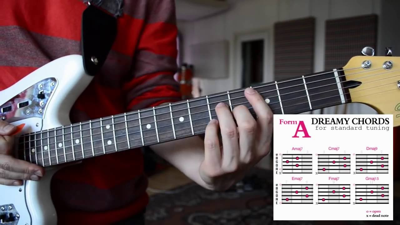 How To Play Easy Dreamy Guitar Chords Shoegaze Dream Pop