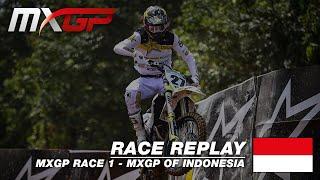 MXGP of Indonesia 2019  Replay MXGP Race 1 #Motocross