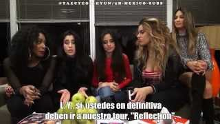 fifth harmony sing a long to reflection takeover ep 57 subtitulado 5h mexico subs