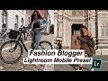 FASHION BLOGGER LIGHTROOM MOBILE PRESET FREE // How to edit (Warm Filter)
