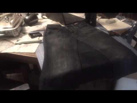 Repurposing Pants to Skirts - A closeup Look