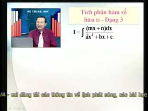Ôn thi Đai học: Tích phân hàm số hữu tỷ