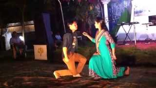 Dance with Bangla romantic song during Huawei-Airtel team building at Bandorban ...!