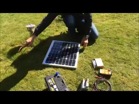how to set up industrial solar panels