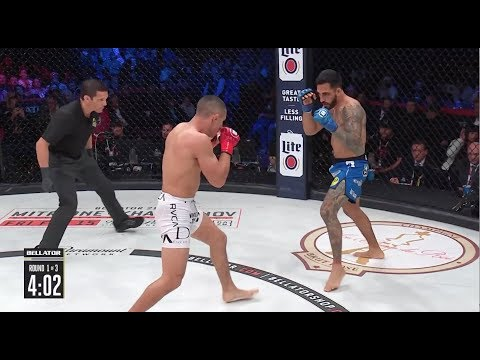 Bellator 214: Henry Corrales vs. Aaron Pico - KO moment
