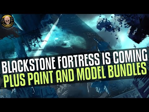 Blackstone Fortress for Christmas (Abbadon Included?) + Model and Hobby bundles!