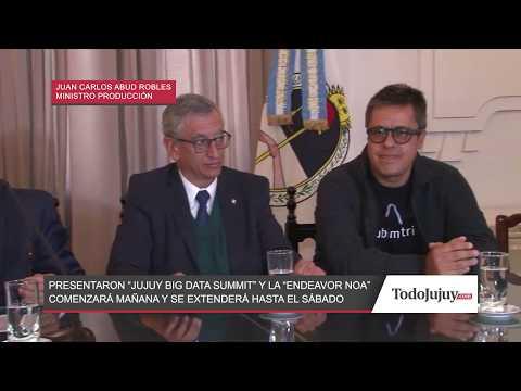 Jujuy Big Data Summit y la Endeavor NOA