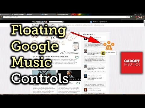 Control Google Play Music from Within Any Web Page [How-To]