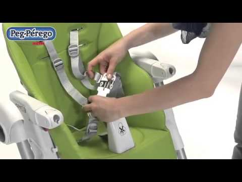 Chicco polly 2 en 1 de trona a silla doovi for Housse de rechange peg perego prima pappa