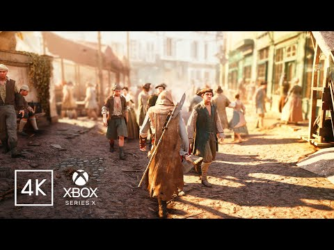Assassin's Creed Unity Remastered | Xbox Series X Graphics with DirectX Ray Tracing Technology