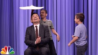 Jersey Pizza Boys Toss Flaming Pizza Dough with Jimmy