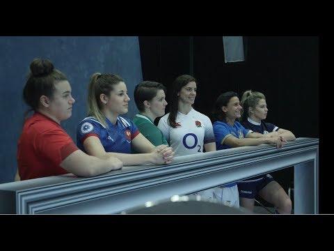 Overview: Women's 2018 launch! | Women's Six Nations
