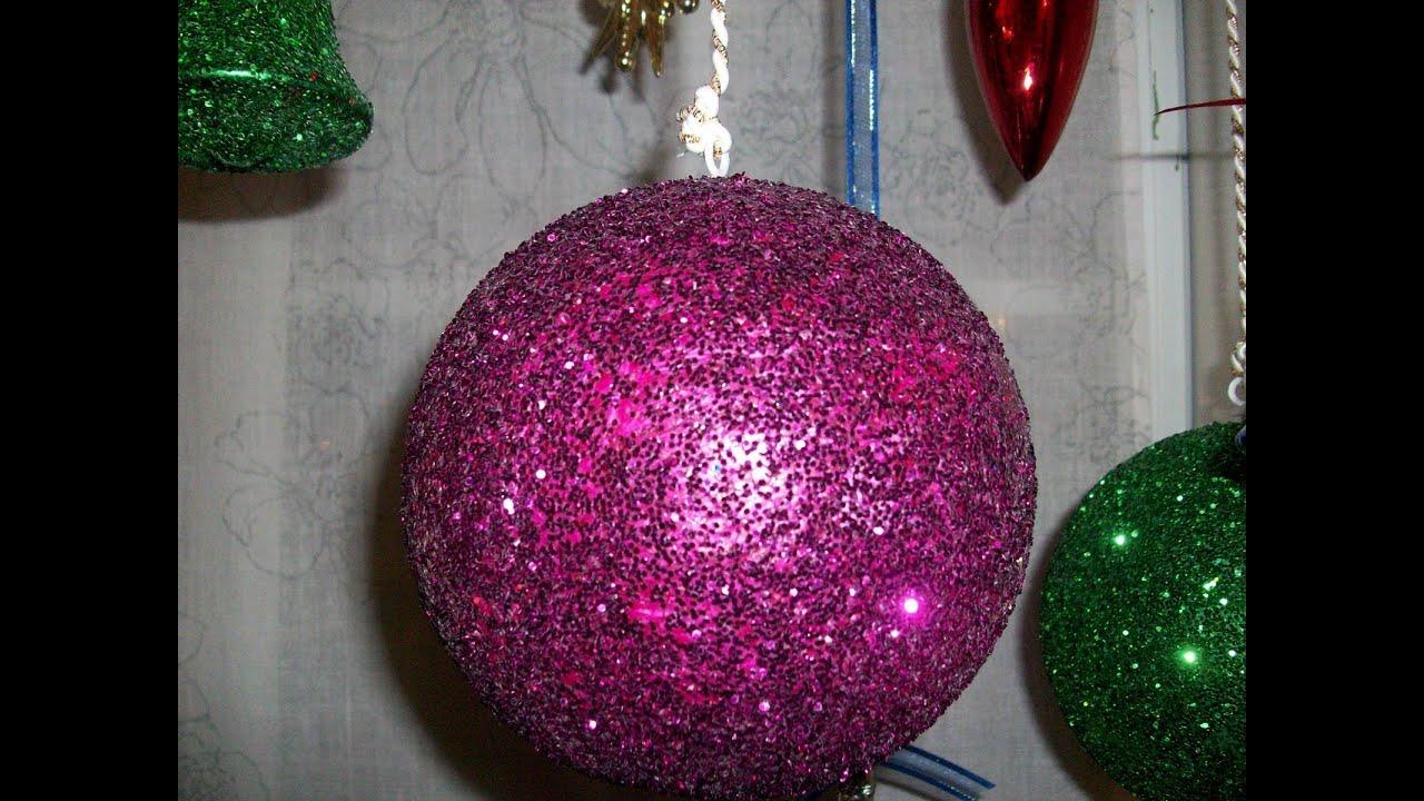 Lmparas hechas con diamantina  Lamps made of diamond