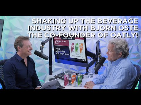 bjorn-oste,-the-co-founder-of-oatley-is-shaking-up-the-beverage-industry!
