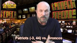 Patriots vs Broncos NFL Playoff Preview from Las Vegas, Jan. 24, 2016