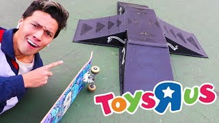 I BOUGHT A SKATEPARK FROM TOYS R US!