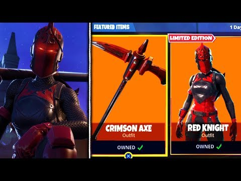 Red Knight Return Official Date Confirmed By Fortnite Fortnite
