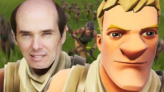 carrying-my-grandad-in-fortnite