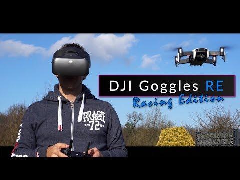 """DJI Goggles RE """"Racing Edition"""" - die FPV-Brille für Drohnen und FPV Racer [deutsch]"""