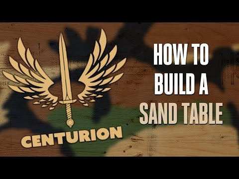PART 1: How to build a Military Sand Table - YouTube