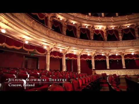 Baliticroute trailer. The European Route of Historic Theatres.