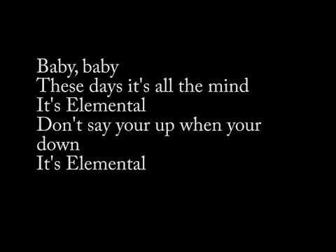 Tears for Fears- Elemental lyrics