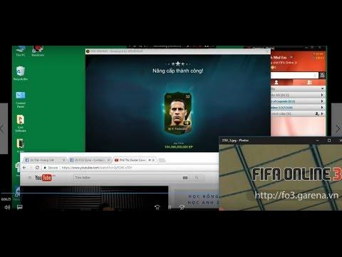 [ Fifa online 3 ] Đập Rio Ferdinand WC 06 +8