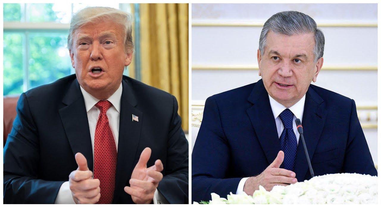 Tramp, Mirziyoyev: koronavirusga qarshi qanday choralar? MyTub.uz