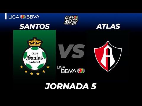 Santos Laguna Atlas Goals And Highlights