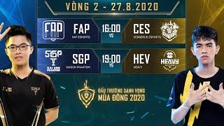 Saigon Phantom, FAP Esports toàn thắng - ĐTDV mùa Đông 2020