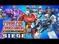 NYCC 2018: Transformers Cyberverse & WFC SIEGE Toyline Reveals