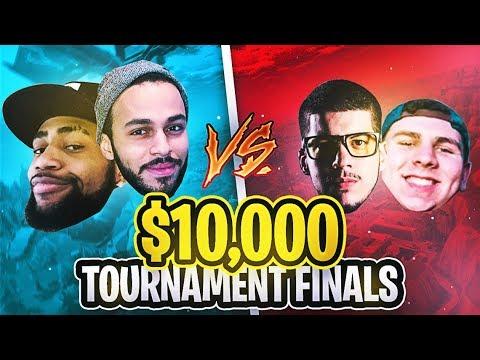 $10,000 Fortnite Tournament (FINALS) - TSM Daequan & Hamlinz vs. Thiefs & Typical Gamer